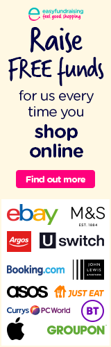 easyfundraising shop for free funds banner